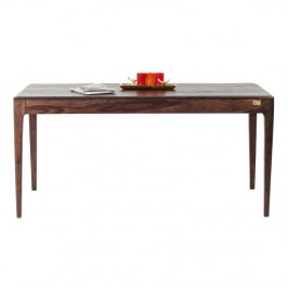 Jedálenský stôl z masívneho dreva Kare Design Brooklyn, 200 × 100cm