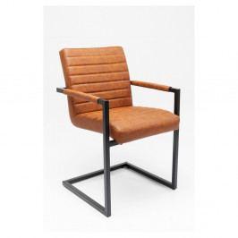 Sada 2 hnedých stoličiek Kare Design Barone