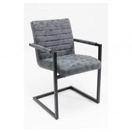 Sada 2 sivých stoličiek Kare Design Barone