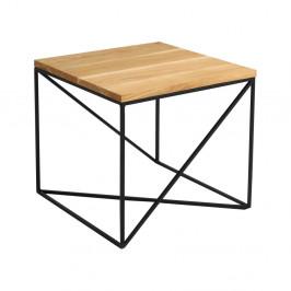 Konferenčný stolík s doskou v dekore dubového dreva Custom Form Memo, dĺžka 50 cm