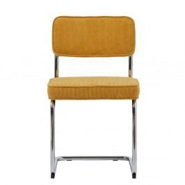 Žltá jedálenská stolička Unique Furniture Rupert Bauhaus