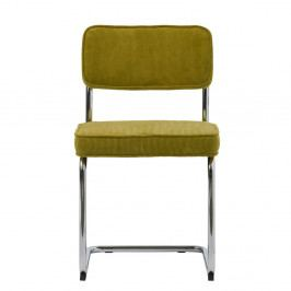 Limetkovozelená jedálenská stolička Unique Furniture Rupert Bauhaus