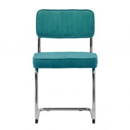 Modrá jedálenská stolička Unique Furniture Rupert Bauhaus