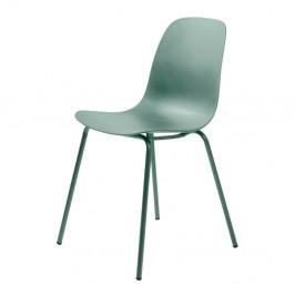 Zelená jedálenská stolička Unique Furniture Whitby