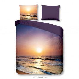 Obliečky na dvojlôžko z mikrovlákna Muller Textiels Sunset, 200×200 cm