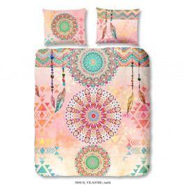 Obliečky na dvojlôžko z bavlneného saténu Muller Textiels Vilastre, 200×240 cm