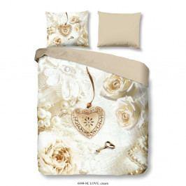 Obliečky na dvojlôžko z mikrovlákna Muller Textiels Romance, 200×240 cm