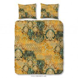 Obliečky na dvojlôžko z bavlneného saténu Muller Te×tiels Talon, 200×240 cm