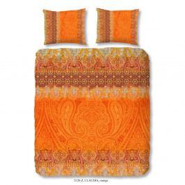 Obliečky na dvojlôžko z bavlneného saténu Muller Textiels Sinna, 200×240 cm