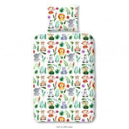 Obliečky na jednolôžko z bavlneného saténu Muller Textiels Rassano Samia, 120×150 cm