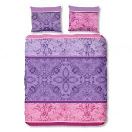 Obliečky na dvojlôžko z bavlny Muller Textiels Descanso Cynthia Multi, 200x200 cm