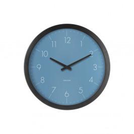 Modré nástenné hodiny Karlsson Dainty