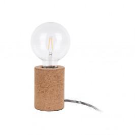 Stolová lampa s korkovým podstavcom Leitmotiv Bar