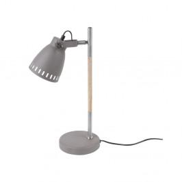 Sivá stolová lampa Leitmotiv Mingle