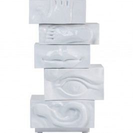 Biela komoda Kare Design Body Art