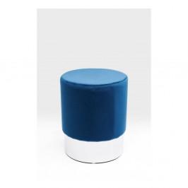 Modrá stolička Kare Design Cherry, ∅ 35 cm