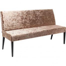Hnedá lavica Kare Design Econo Diva