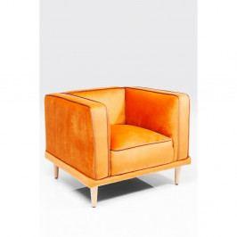 Oranžové kreslo Kare Design Chill Out