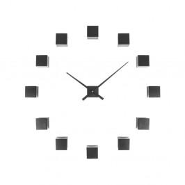 Čierne nástenné hodiny Karlsson Do It Yourself
