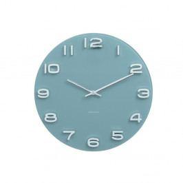 Modré hodiny Karlsson Vintage, Ø 35 cm