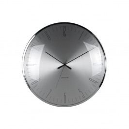 Sklenené hodiny Karlsson Dragonfly, Ø 40 cm