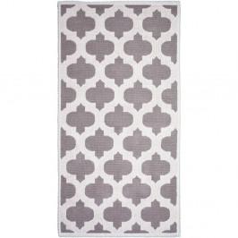 Béžový bavlnený koberec Vitaus Madalyon, 60×90cm