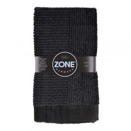 Čierny uterák Zone Classic, 50x100cm
