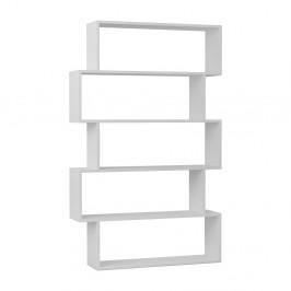 Knižnica v bielej farbe Homitis Kat
