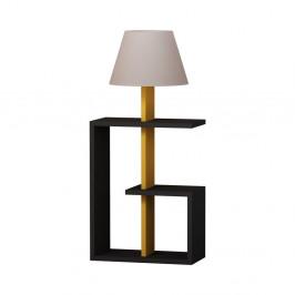 Antracitová voľne stojacia lampa Homitis Saly