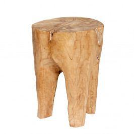 Stolička z teakového dreva Hübsch Lillian