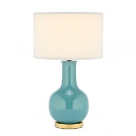 Keramická stolová lampa Paris, modrá