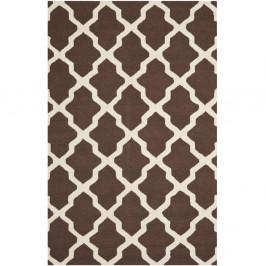 Vlnený koberec Safavieh Ava 152x243 cm, hnedý
