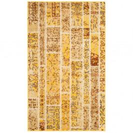 Žltý koberec Safavieh Effi, 121 × 170 cm