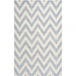 Vlnený koberec Stella Light Blue, 182×274 cm