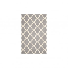 Vlnený koberec Ava Light Grey, 182x274 cm
