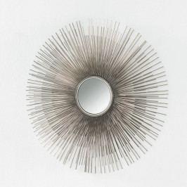 Nástenné zrkadlo z kovu Thai Natura, Ø 80 cm