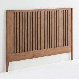 Čelo postele z lakovaného dreva borovice Thai Natura Showcase, 162×110 cm