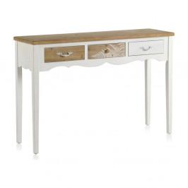 Drevený konzolový stolík Geese Natural