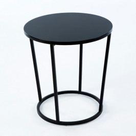 Čierny príručný stôl Thai Natura Offi