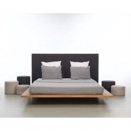 Posteľ z olejovaného dubového dreva Mazzivo Mood 2.0, 180×220 cm