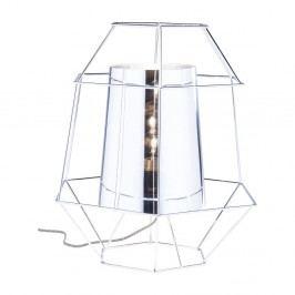 Stolová lampa v striebornej farbe Kare Design Ware