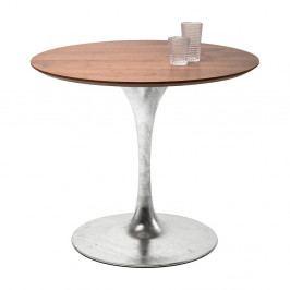 Doska jedálenského stola v orechovom dekore Kare Design Invitation, ⌀ 90 cm