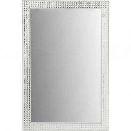 Nástenné zrkadlo Kare Design Crystals White, 80 × 60 cm
