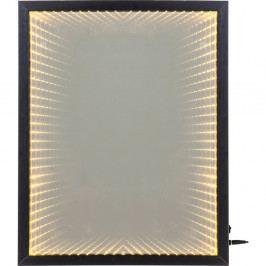 Nástenné zrkadlo s rámom s LED svetlami Kare Design Frame, 48 × 38 cm