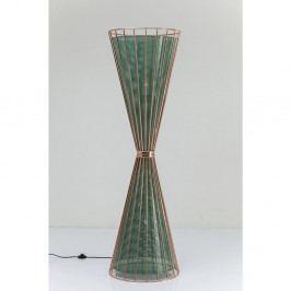 Zelená stojacia lampa Kare Design Hourglass
