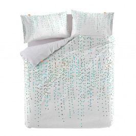 Bavlnená obliečka na paplón Blanc Rain, 140×200 cm