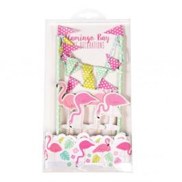 Set na zdobenie torty Rex London Flamingo Bay