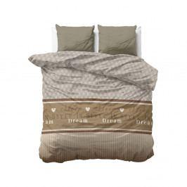 Obliečky z mikroperkálu na dvojlôžko Sleeptime Sleep in Time, 200×200 cm
