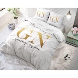 Bavlnené obliečky na dvojlôžko Sleeptime Good Night, 200×220 cm