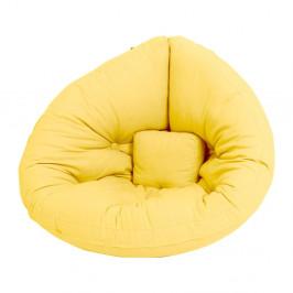 Detské rozkladacie kresielko Karup Design Mini Nido Yellow